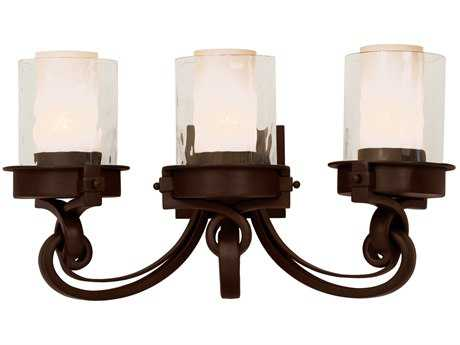 Kalco Lighting Newport Satin Bronze Three-Light Vanity Light