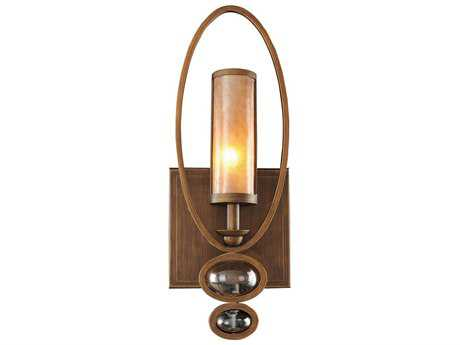 Kalco Lighting Sandhurst Antique Brass Wall Sconce