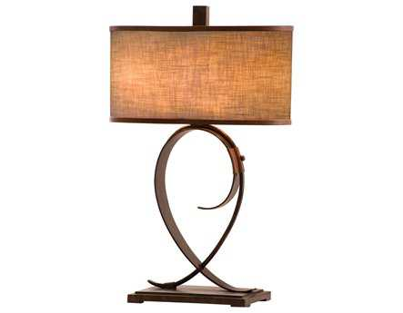 Kalco Lighting Rodeo Drive Two-Light Table Lamp Black - 898B