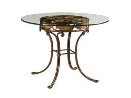 Kalco Lighting Furniture Sienna Bronze 48 Dia x 30H Round Dining Table