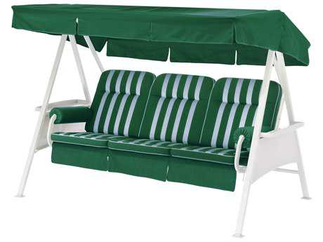 Kettler 3 Seater Swing with Forest Green Cushion Set