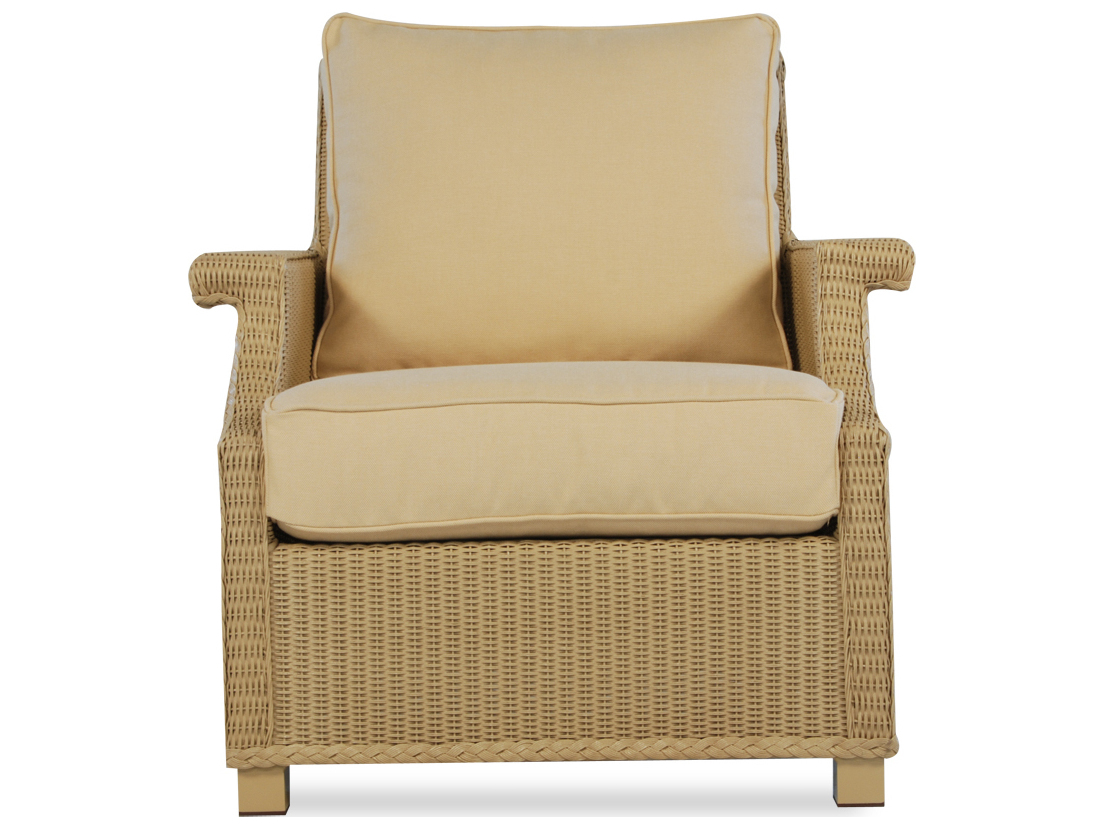 Lloyd Flanders Hamptons Wicker Lounge Chair