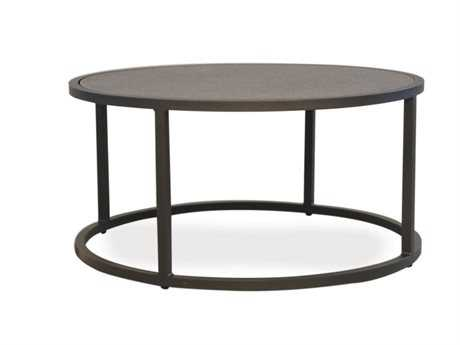 Lloyd flanders loft essentials 3625 round cocktail table for 25 inch round coffee table