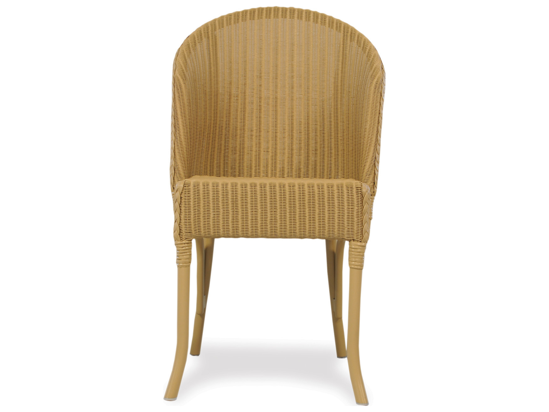 flanders dining accessories wicker round back dining chair 286005