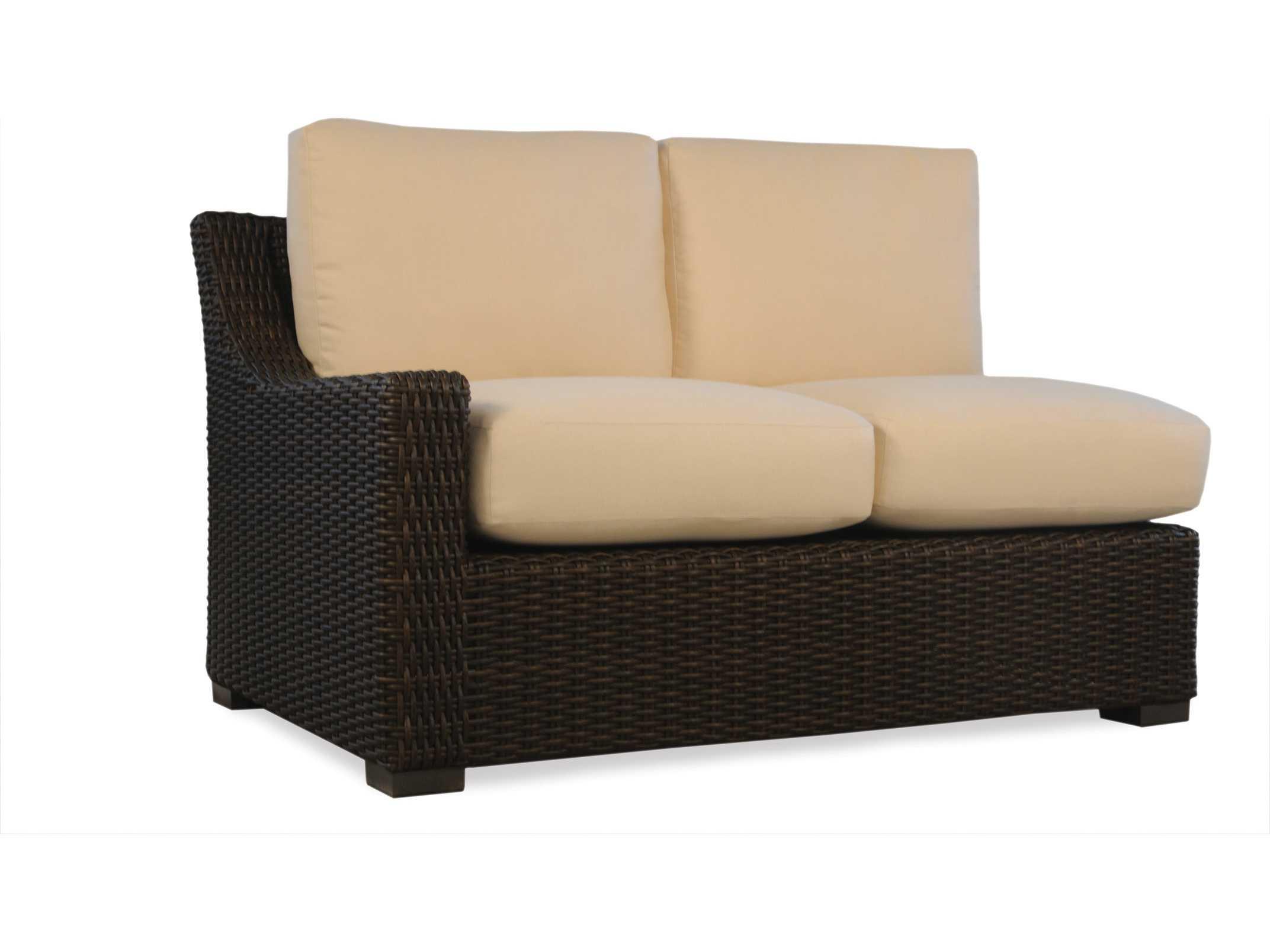Lloyd Flanders Mesa Wicker Curved Sofa Replacement Cushion Lloyd Flanders Mesa Lloyd