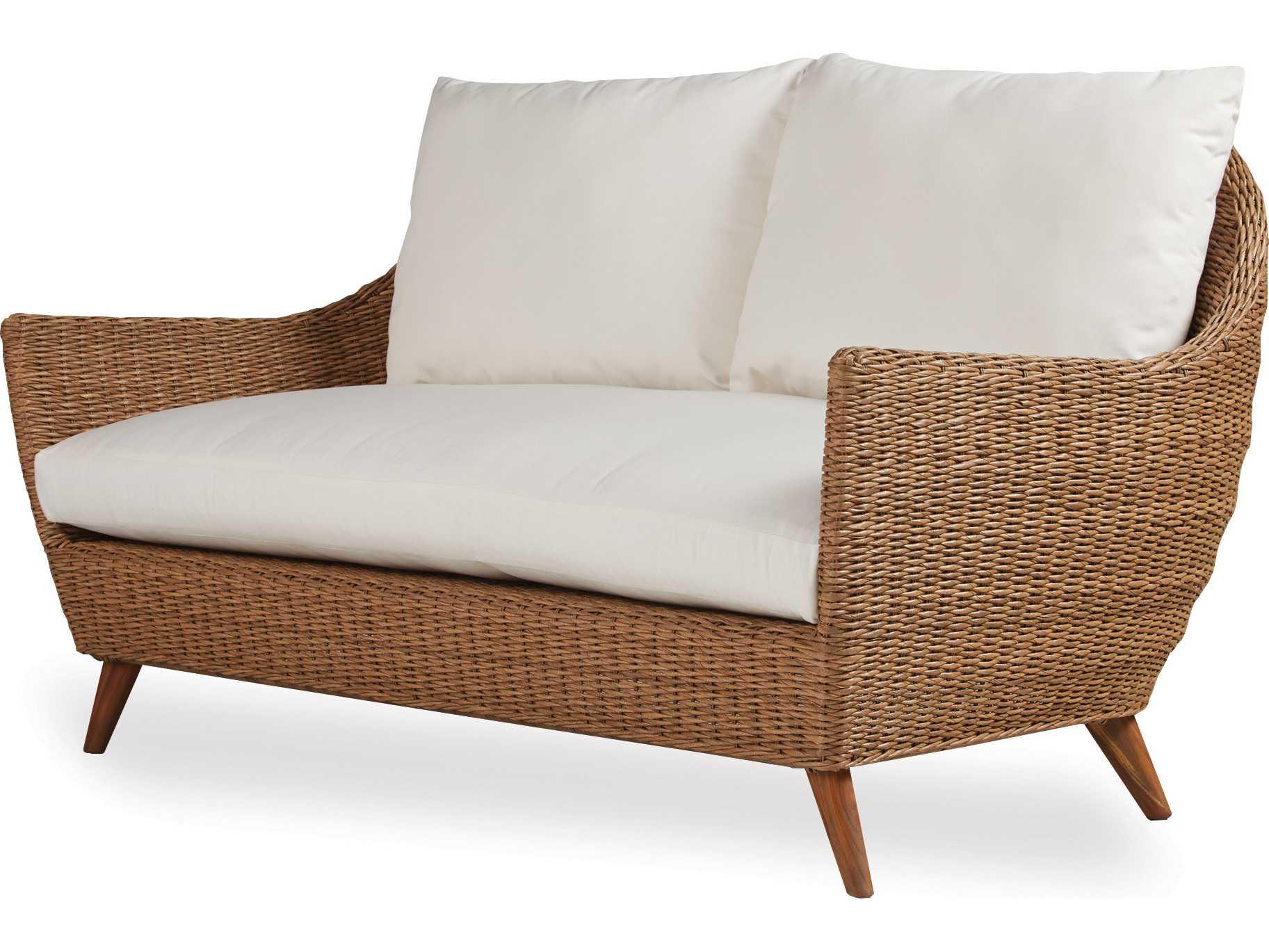 lloyd flanders tobago wicker love seat 426050. Black Bedroom Furniture Sets. Home Design Ideas