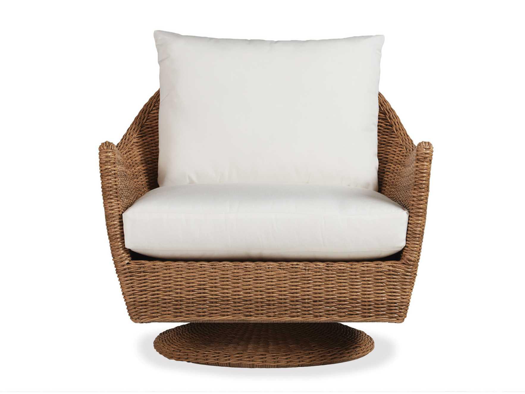 Lloyd Flanders Tobago Wicker Swivel Lounge Chair