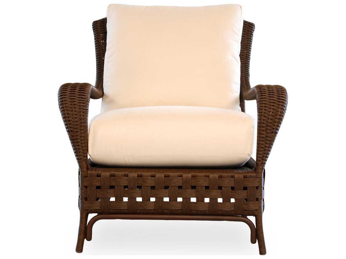 Lloyd Flanders Haven Wicker Lounge Chair