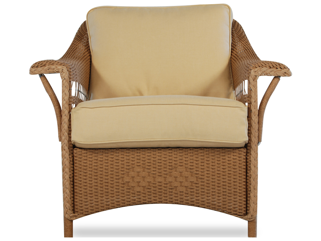 Lloyd Flanders Nantucket Wicker Lounge Chair