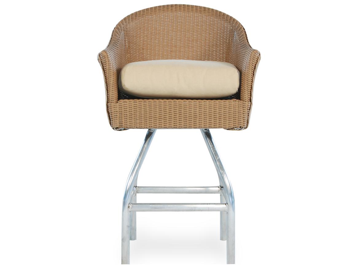 Lloyd Flanders Wicker Cushion Arm Bar Stool 86206 : LF862062zm from www.patioliving.com size 1166 x 874 jpeg 37kB