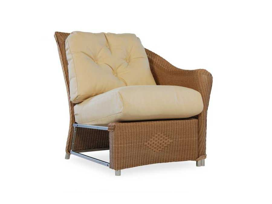 Lloyd Flanders Reflections Left Arm Lounge Chair Replacement Cushions