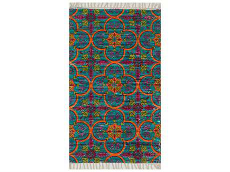 Loloi Aria Transitional Flatweave Cotton Geometric 1'8'' x 3'0'' Area Rug - ARIAHAR13BBOR1830
