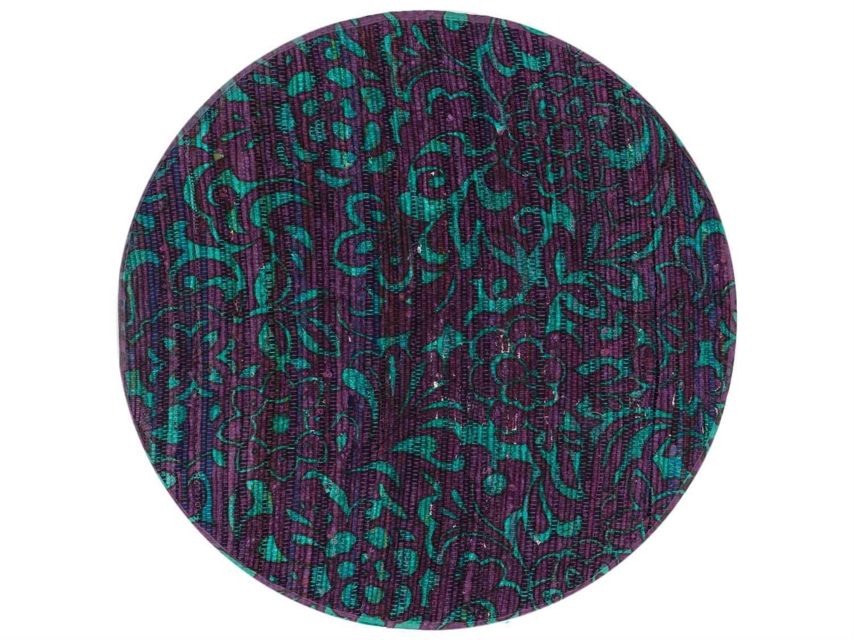 loloi rugs aria 3 39 round purple turquoise area rug