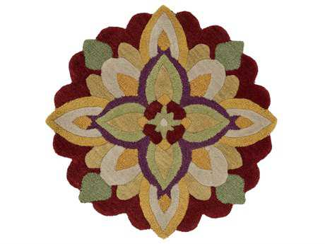 Loloi Azalea Transitional Yellow Hand Made Wool Floral/Botanical Area Rug - AZ-10-REYE-ROU
