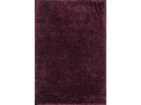 Loloi Cozy Shag Shag Purple Hand Made Synthetic Solid 3'6'' x 5'6'' Area Rug - COZYCZ-01PD003656