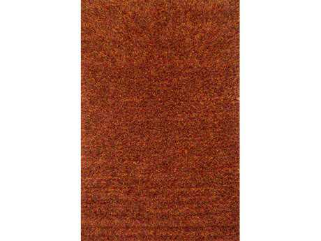 Loloi Dion Shag Shag Red Hand Made Synthetic Solid 3'6'' x 5'6'' Area Rug - DIONDS-01RU003656