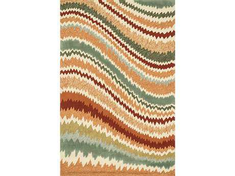 Loloi Enzo Modern Brown Hand Made Synthetic Abstract 2'3'' x 3'9'' Area Rug - ENZOEZ-04SQ002339