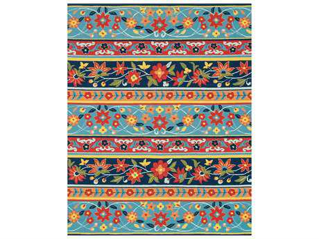 Loloi Francesca Transitional Hand Made Synthetic Floral/Botanical 2'3'' x 3'9'' Area Rug - FRACFC-23BBML2339