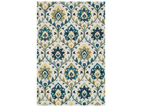 Loloi Francesca Transitional Beige Hand Made Synthetic Floral/Botanical 2'3'' x 3'9'' Area Rug - FRACFC-45IVBB2339