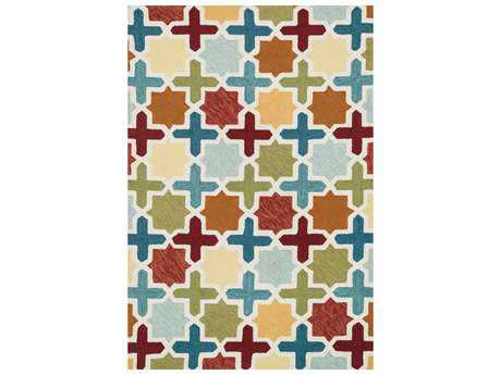 Loloi Francesca Transitional Hand Made Synthetic Geometric 2'3'' x 3'9'' Area Rug - FRACFC-49REML2339