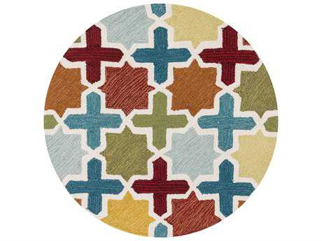 Loloi Francesca Transitional Hand Made Synthetic Geometric Area Rug - FRACFC-49REML-ROU
