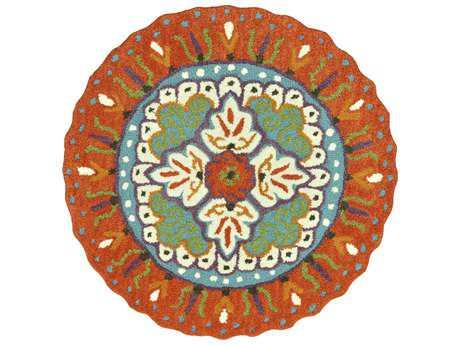Loloi Gardenia Transitional Hand Made Wool Area Rug - GARDHGA05ORIV-ROU