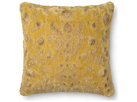 Loloi Rugs 22 Square Citron Pillow (Sold in 4) Down - DSETGPI14XC00PIL3