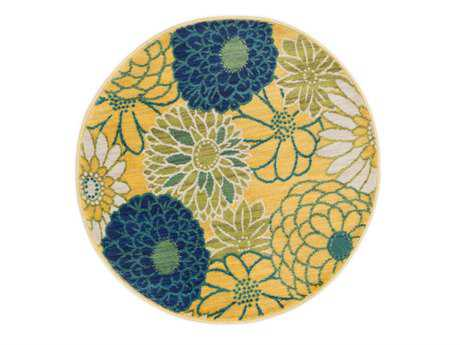 Loloi Isabelle Modern Green Machine Made Synthetic Floral/Botanical Area Rug - HIS05-GRML-ROU