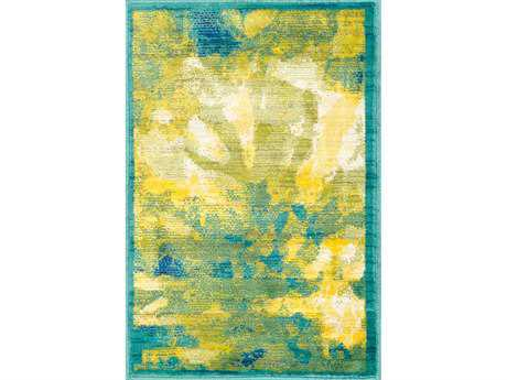 Loloi Lyon Modern Green Machine Made Synthetic Abstract 2'0'' x 3'0'' Area Rug - LYONHLZ01GZ002030