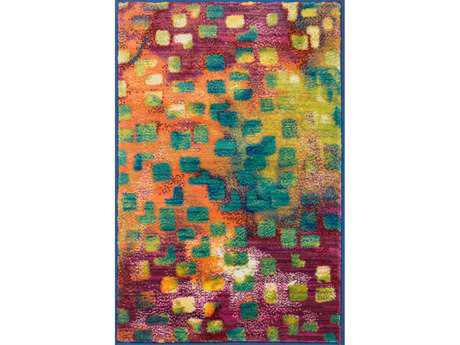 Loloi Lyon Modern Purple Machine Made Synthetic Abstract 2'0'' x 3'0'' Area Rug - LYONHLZ03FV002030