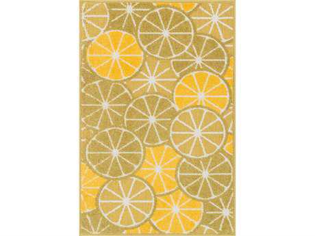 Loloi Tilley Modern Green Machine Made Synthetic Abstract 2'5'' x 3'9'' Area Rug - TILLHTI01GRYE2539