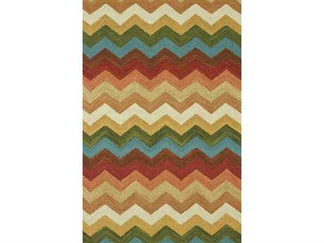 Loloi Taylor Transitional Brown Hand Made Wool Chevron 3'6'' x 5'6'' Area Rug - TAYLHTY02SS003656