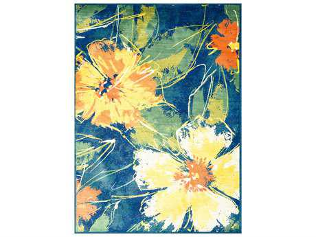 Loloi Madeline Modern Machine Made Synthetic Floral/Botanical 2'0'' x 3'0'' Area Rug - MADEMZ-05CU002030