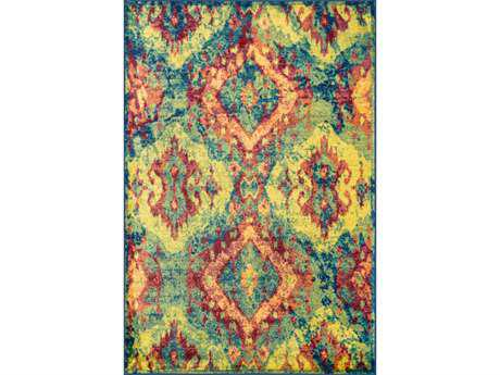 Loloi Madeline Modern Yellow Machine Made Synthetic Abstract 2'0'' x 3'0'' Area Rug - MADEMZ-12TL002030