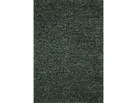 Loloi Olin Shag Green Hand Made Synthetic Solid 3'6'' x 5'6'' Area Rug - OLINOL-01EM003656