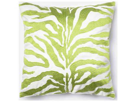 Loloi Rugs 18'' Square Green Pillow (Sold in 4) Down - DSETP0252GR00PIL1