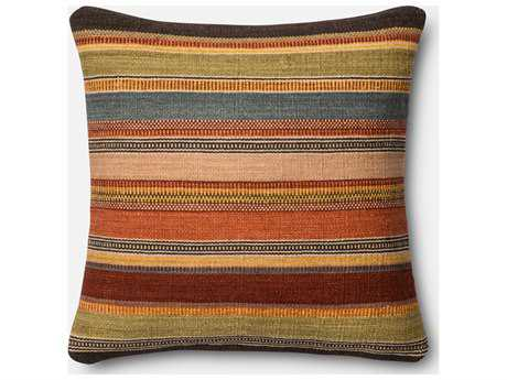 Loloi Rugs 22 Square Multi-Color Pillow (Sold in 4) Down - DSETP0393ML00PIL3
