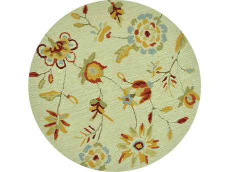 Loloi Summerton Transitional Beige Hand Made Synthetic Floral/Botanical Area Rug - SRS02-BE-ROU