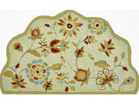 Loloi Summerton Transitional Beige Hand Made Synthetic Floral/Botanical Area Rug - SRS02-BE-SCH
