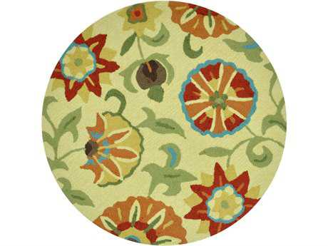 Loloi Summerton Transitional Yellow Hand Made Synthetic Floral/Botanical Area Rug - SSC04-KP-ROU