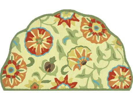 Loloi Summerton Transitional Yellow Hand Made Synthetic Floral/Botanical Area Rug - SSC04-KP-SCH