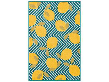 Loloi Tilley Modern Machine Made Synthetic Chevron 2'5'' x 3'9'' Area Rug - TILLHTI05BBYE2539