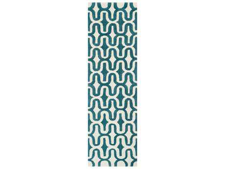 Loloi Weston Modern Hand Made Wool Area Rug - WESNHWS09IVTE-RUN