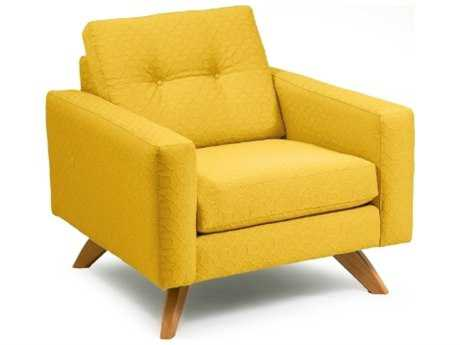 Loni M Designs Stanley Sunny Textured Accent Chair