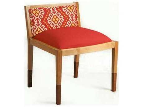 Loni M Designs Genevieve Rust & Orange Accent Chair
