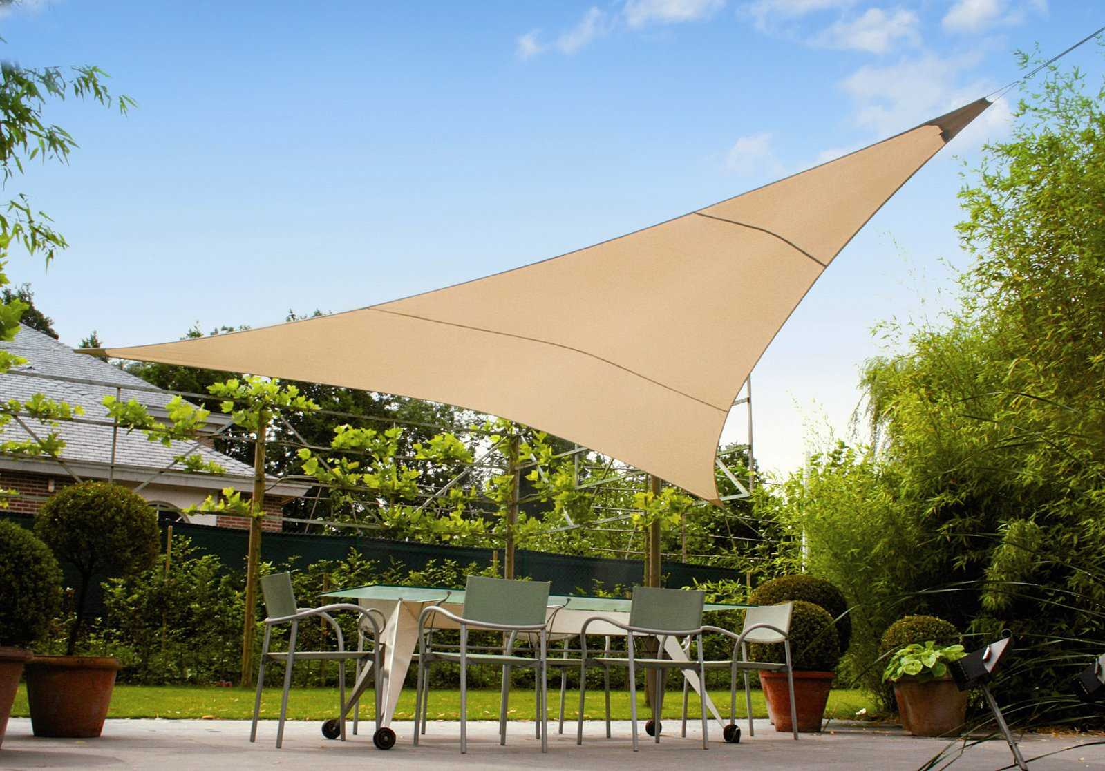 Sail awnings for patio - Zoom