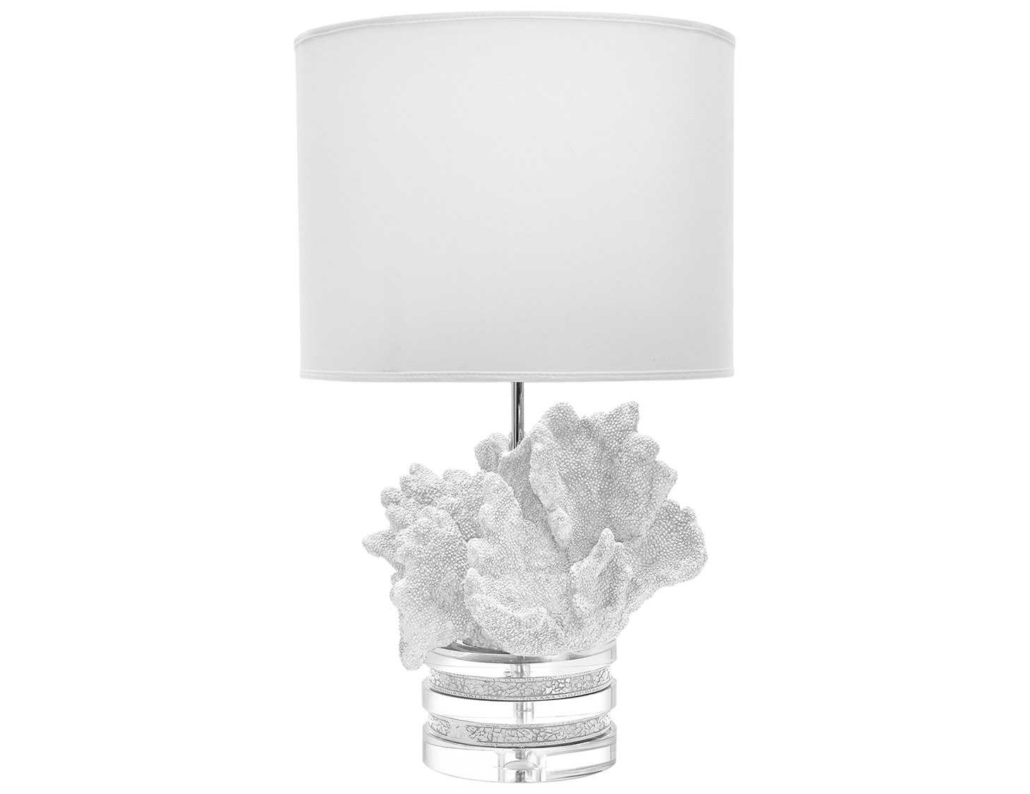 dimond home white coral crystal table lamp 225089. Black Bedroom Furniture Sets. Home Design Ideas