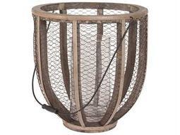 Dimond Home Barrel Wire Atlas Hurricane Vase 594028