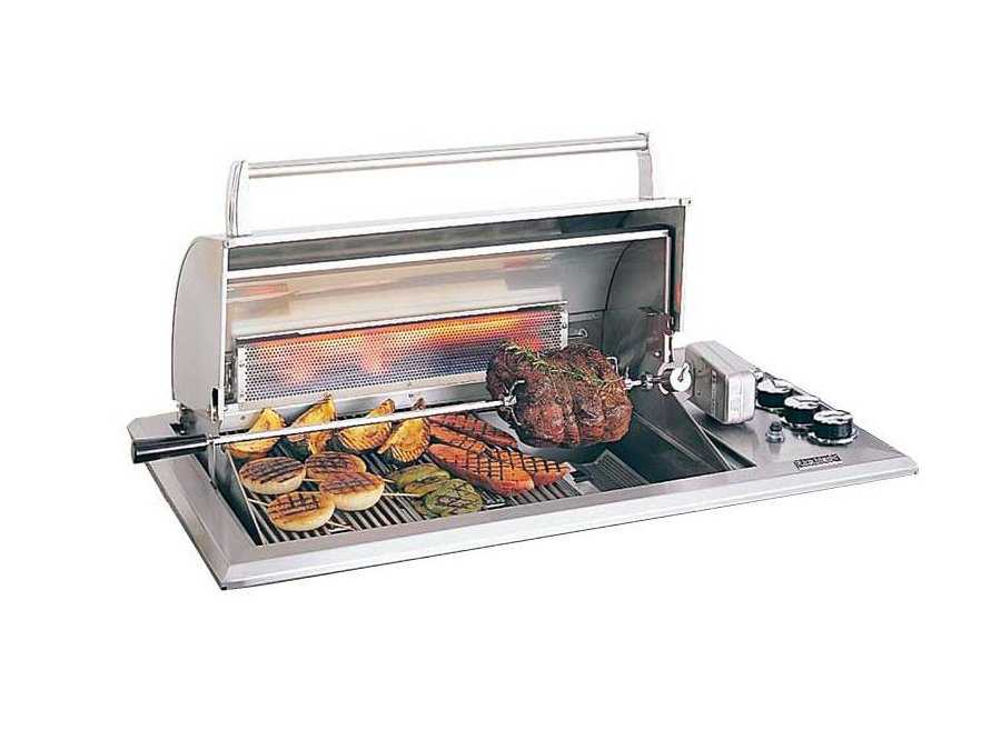 ... Stainless Steel Regal 30 Built-in Counter Top BBQ Grill 34-S1...