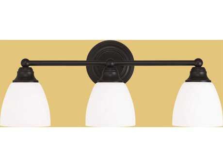 Livex Lighting Somerville Bronze Three-Light Bath Light